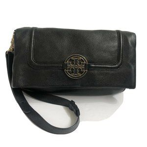 Tory Burch crossbody Handbag black Satchel Leather